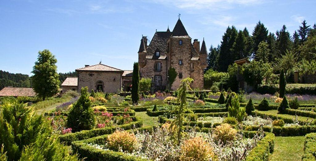 Les jardins de l'établissement - Château de Varillettes Saint-Georges