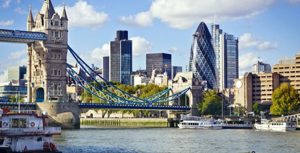 Une vue de Londres depuis la Tamise - Jury's Inn Islington *** Sup Londres