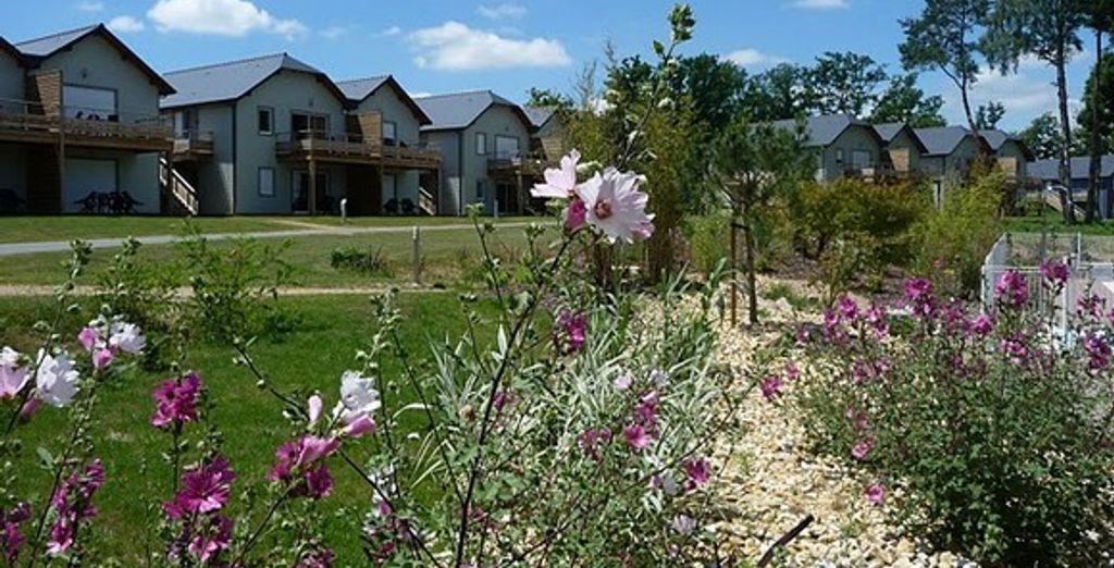Un écrin au coeur de la nature - Resort écologique & Spa Le Relais du Plessis Chaveignes
