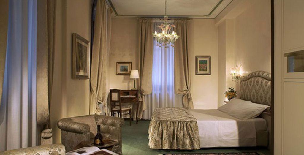 La chambre Deluxe - Hôtel Bonvecchiati **** Venise