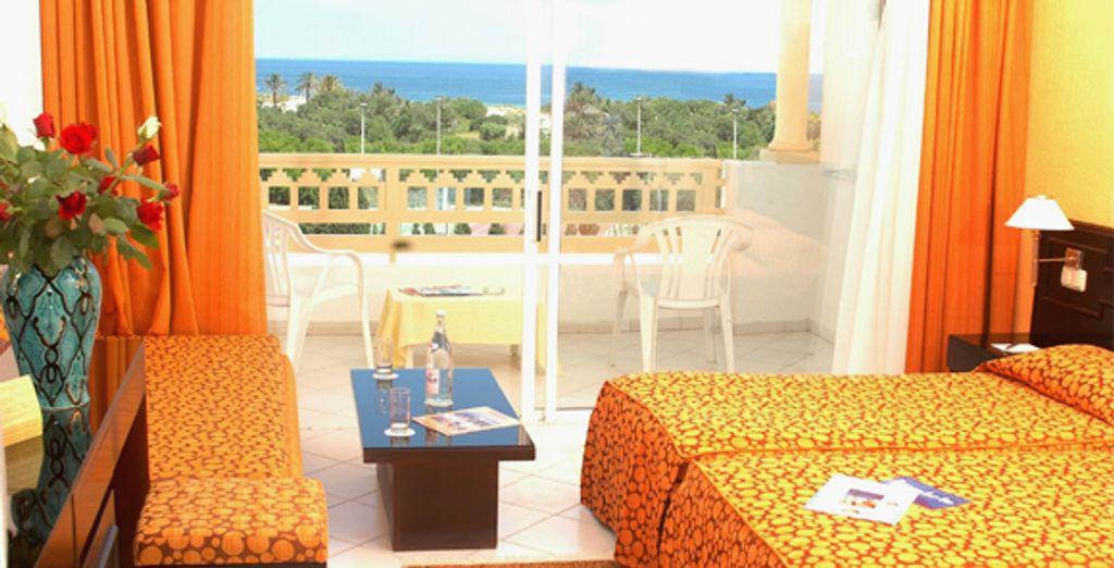 La chambre - Ramada Liberty Resort **** Monastir