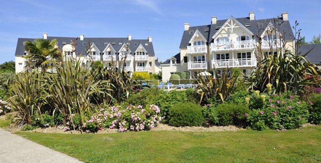 Etablissement au charme typiquement breton... - Résidence Cap Azur - Cap Coz - France Fouesnant