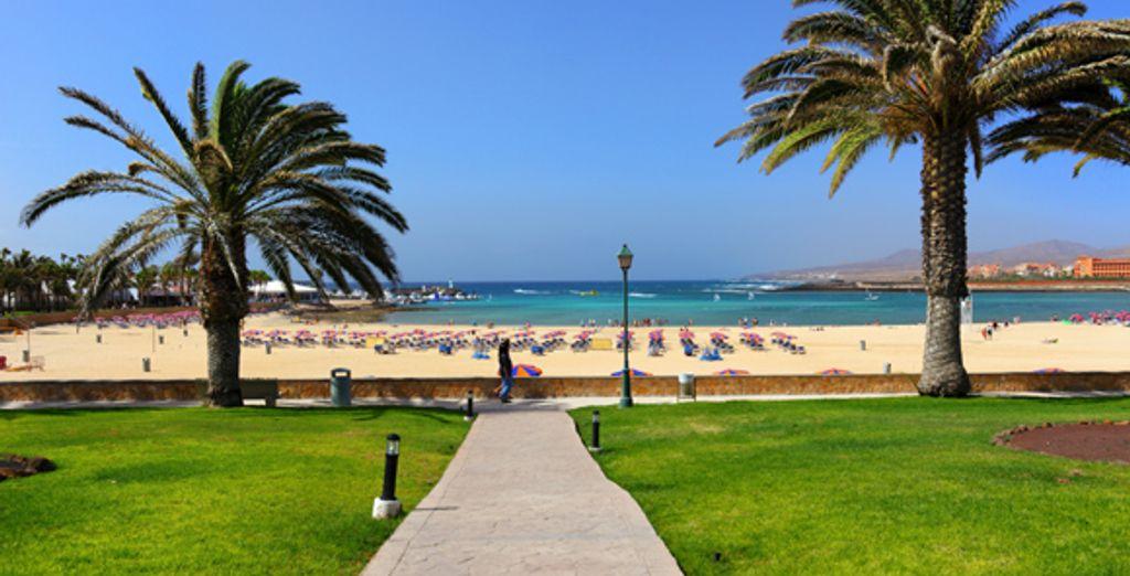 Idéalement situé au bord de la plage - Barcelo Castillo Beach **** Fuerteventura