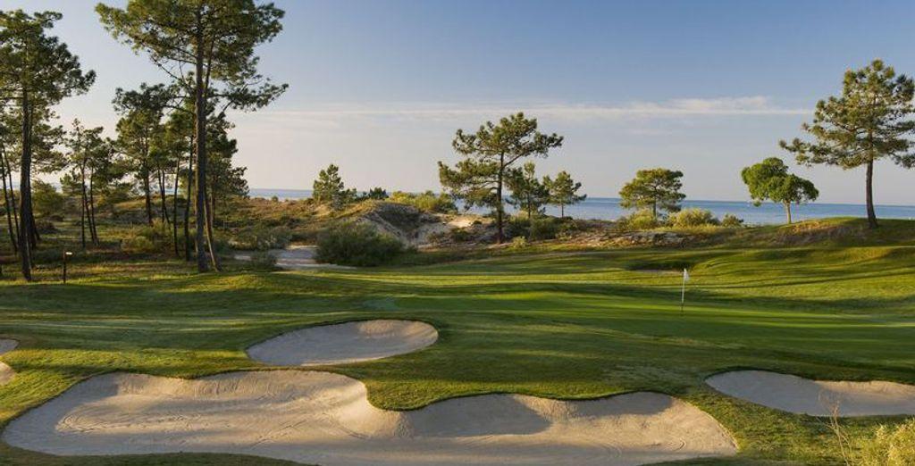 Et un magnifique golf à proximité !