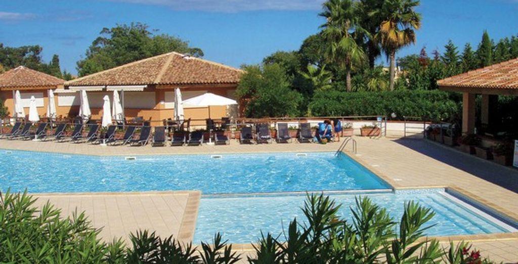 La piscine de la résidence - Résidence Sognu di Mare Bravone