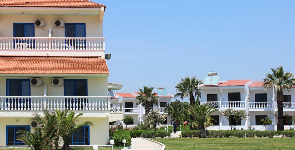 À destination du Kamari Beach Hotel 4* - Kamari Beach Hotel **** Rhodes