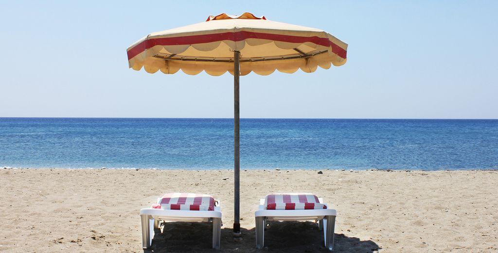 Parcourez les belles plages de la mer Egée
