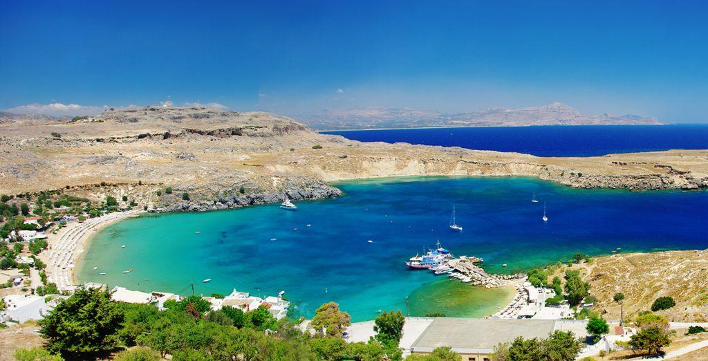 Embarquez pour Rhodes - Kamari Beach Hotel **** Rhodes