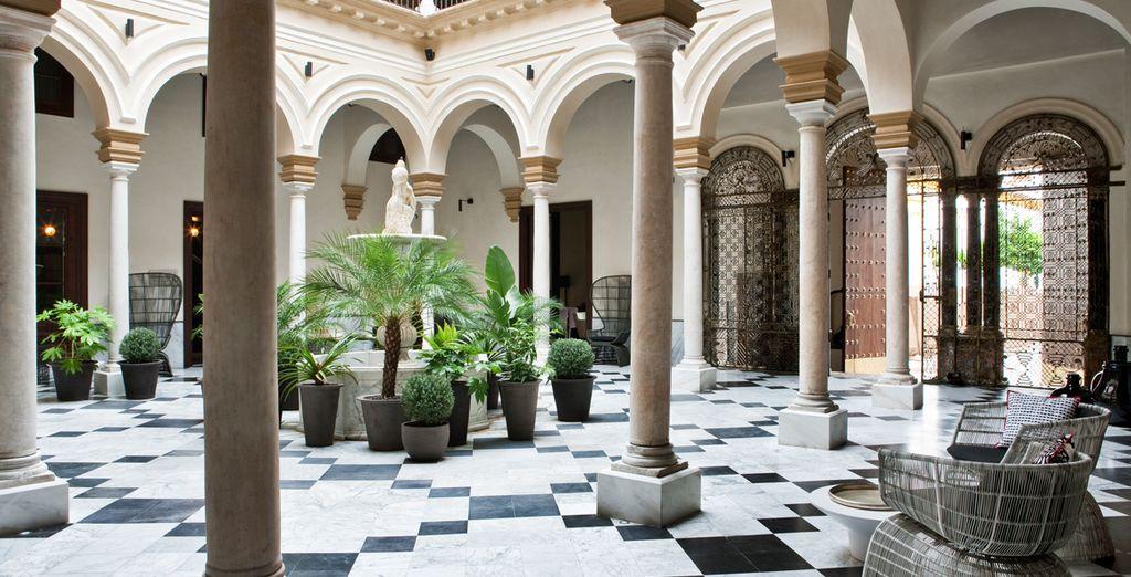 Bienvenue à l'hôtel Alma Sevilla Palacio de Villapanés - Alma Sevilla - Palacio de Villapanés ***** Seville