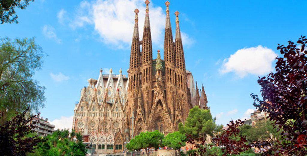Découverte de Barcelone, la Cité de Gaudí avec la Sagrada Familia