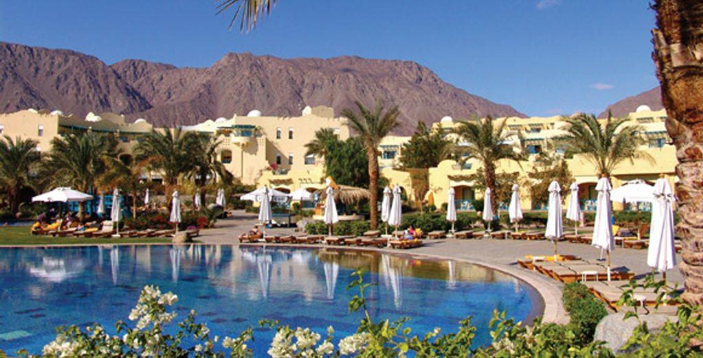 Bienvenue au Marriott Beach Red Sea Resort ***** - Marriott Beach Red Sea Resort ***** ou Marriott Beach Red Sea Resort ***** & Excursion 2 jours en Jordanie Taba