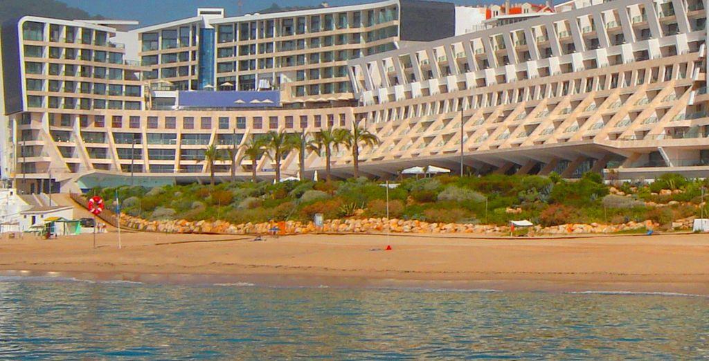 Profitez de la plage au pied de l'hôtel