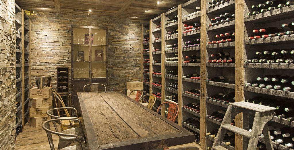 Cave à vins exceptionnelle