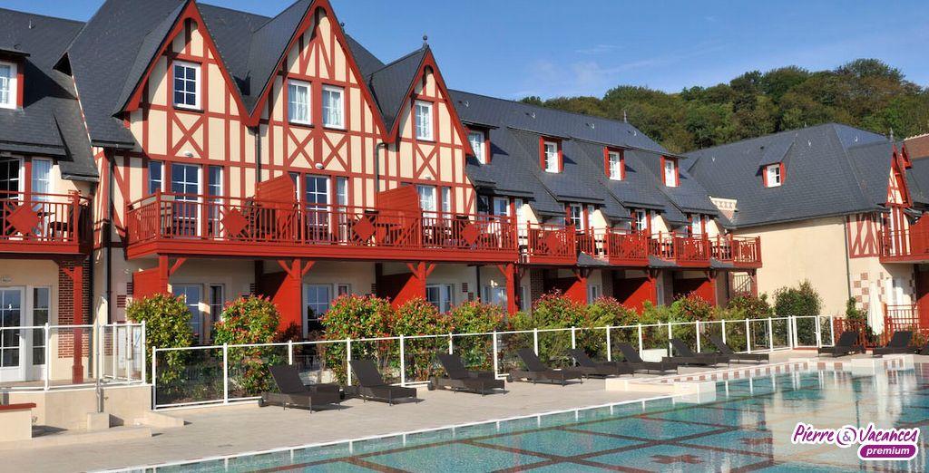 Votre résidence à l'architecture typique... - Résidence Pierre & Vacances Premium & Spa Houlgate Houlgate