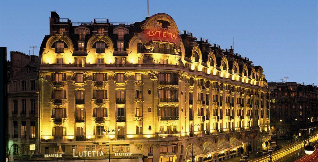 Bienvenue au légendaire hôtel Lutetia - Hôtel Lutetia **** Paris