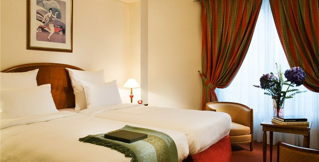 Vous séjournerez en chambre Supérieure - Hôtel Lutetia **** Paris