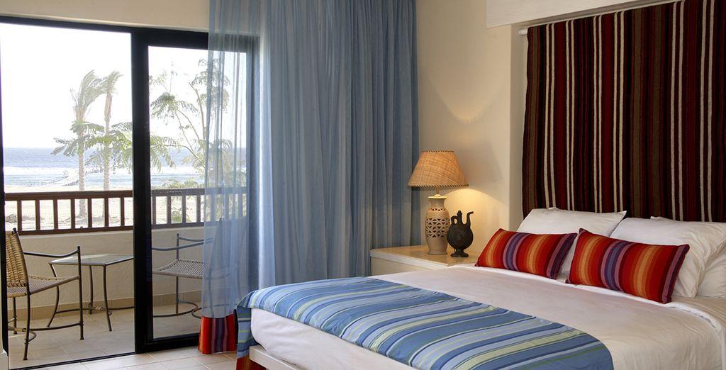 Vous séjournerez en chambre confortable et cosy