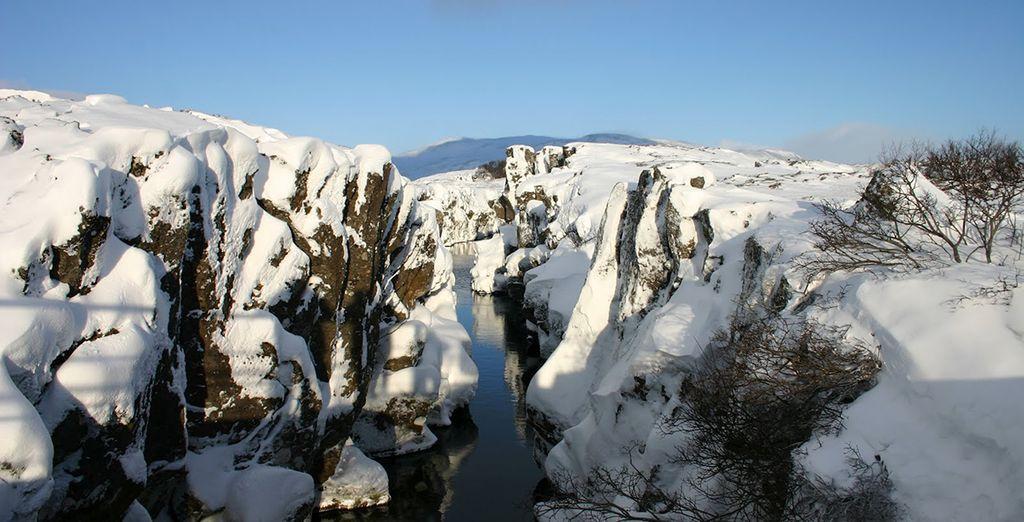 Admirez sa majestueuse blancheur durant l'hiver... - Circuit Islande Escapade hivernale 4* Reykjavik