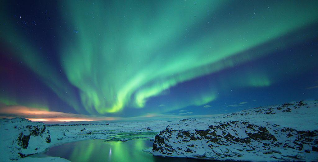 Aux couleurs fascinantes des aurores boréales...