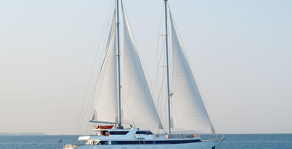 Embarquez pour une incroyable odyssée sur la mer Égée