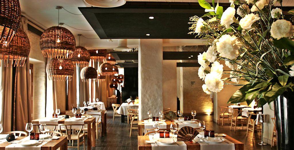 Midi ou soir, venez savourer une cuisine moderne au restaurant