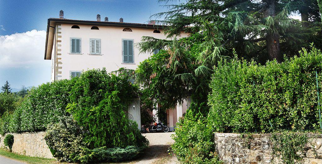 La villa Grotta vous ouvrira ses portes...