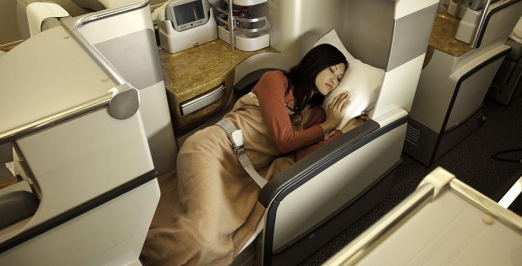 Votre voyage sera aussi confortable...