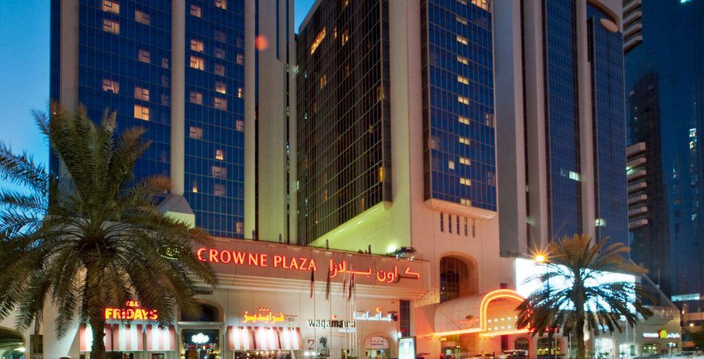 Pour une escapade au sein de l'hôtel Crowne Plaza 5*