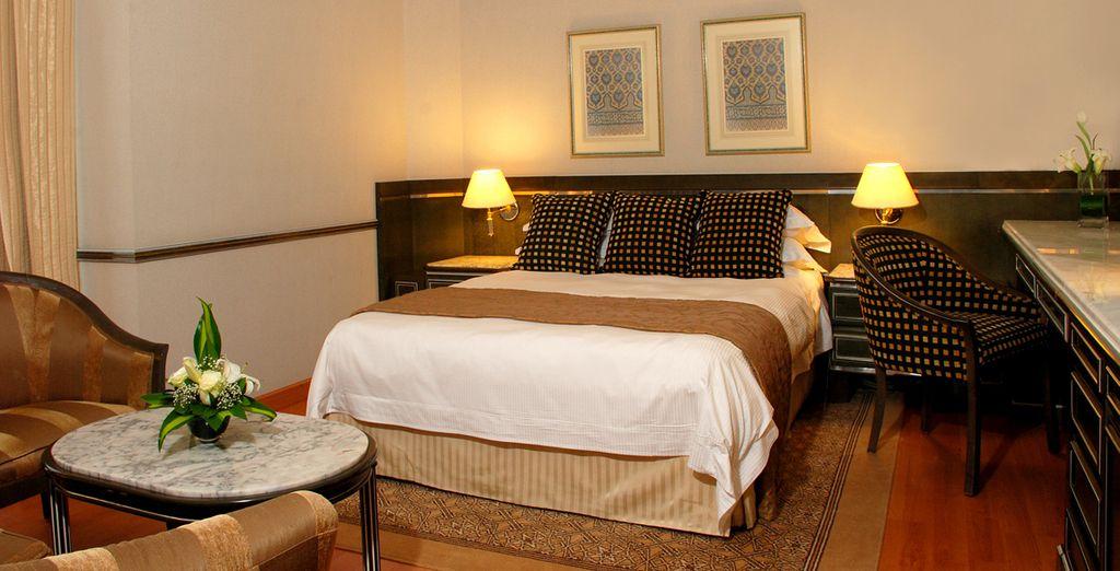 Un espace chaleureux et confortable