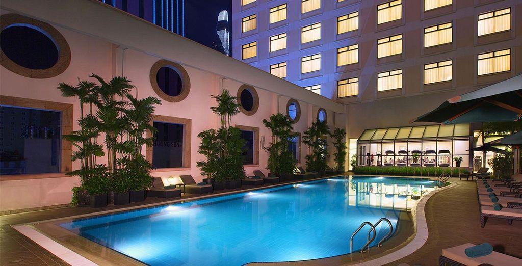 Vous aurez également l'occasion de découvrir Saigon depuis le Sheraton Saigon hôtel & Spa