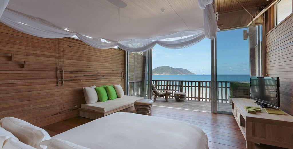 Choisissez de vous endormir en Ocean View Duplex Villa
