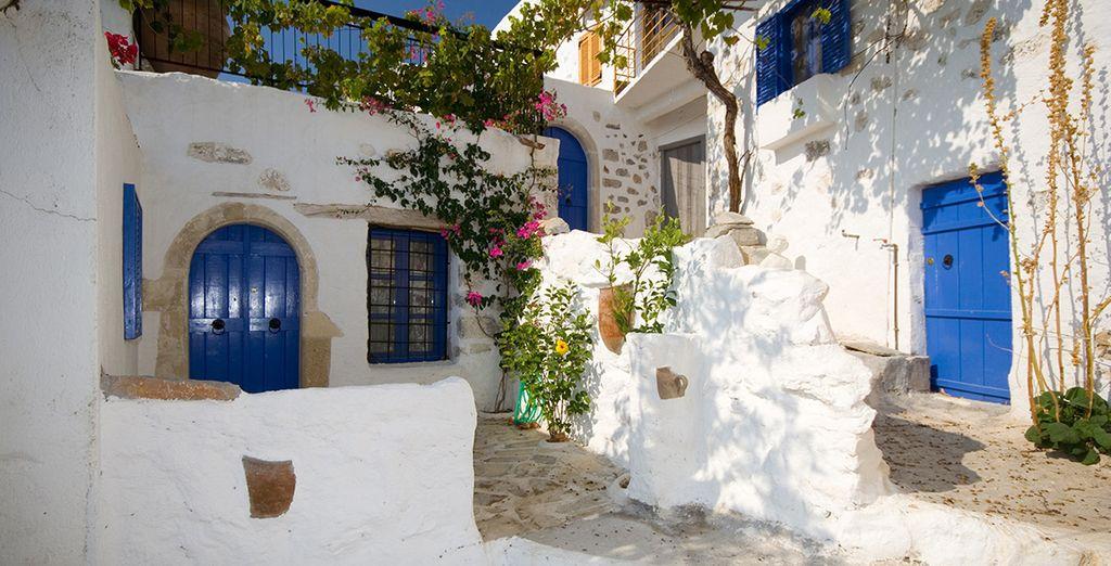 L'architecture atypique, les couleurs incroyables... Vous tomberez sous le charme !