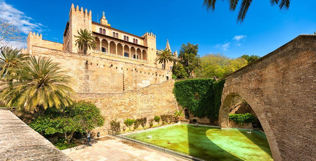 Et partez à la découverte de Palma de Majorque...