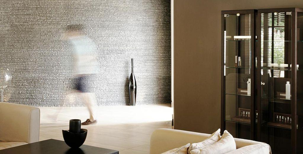 Luxe et élégance dans les espaces communs...