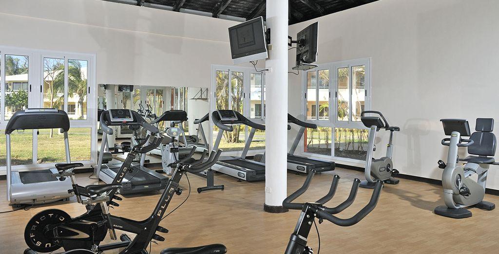 Les plus sportifs pourront se rendre au centre fitness...