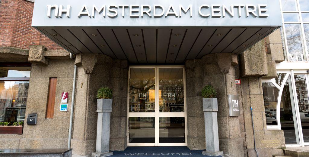 Au départ de l'hôtel NH Amsterdam Centre 4*