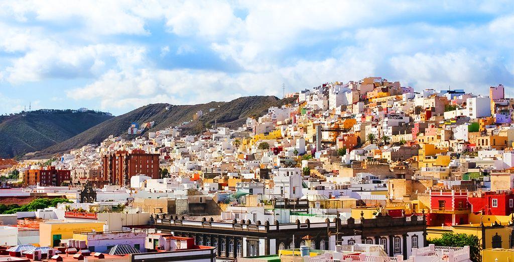 Vous voguerez jusqu'à la ville de Palma, aux Baléares...