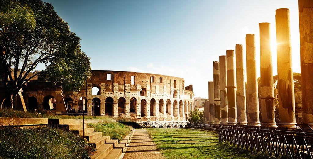 L'incontournable Rome, son Colisée...