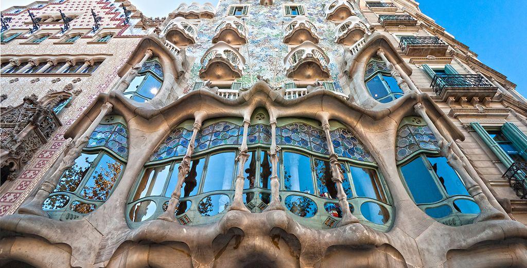 Et les oeuvres de Gaudi