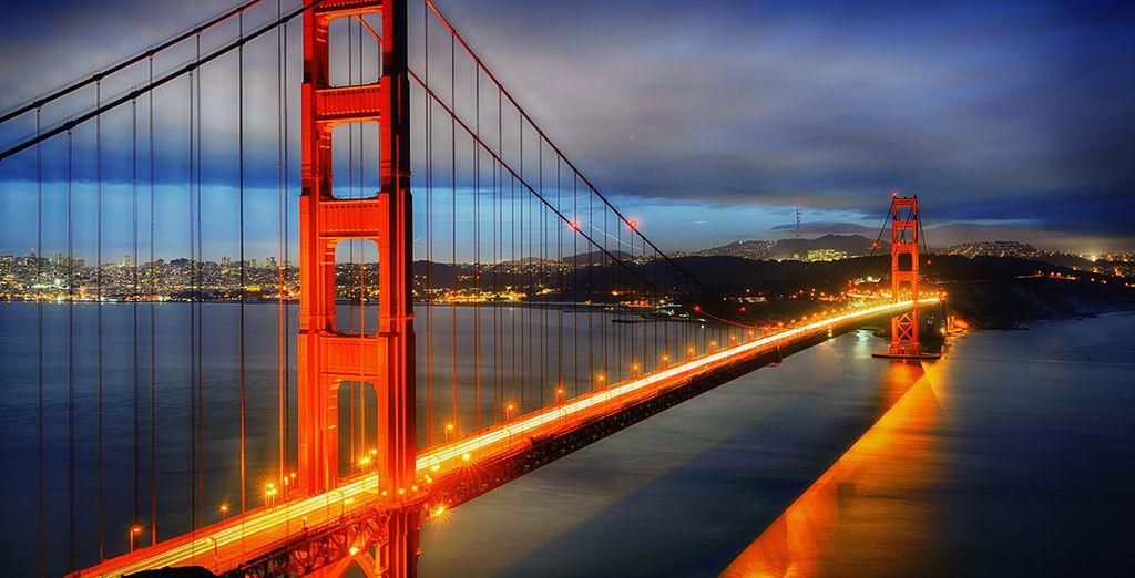 Le fameux Golden Gate...