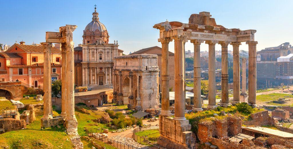 Lors de ce circuit, vous commencerez par la légendaire Rome