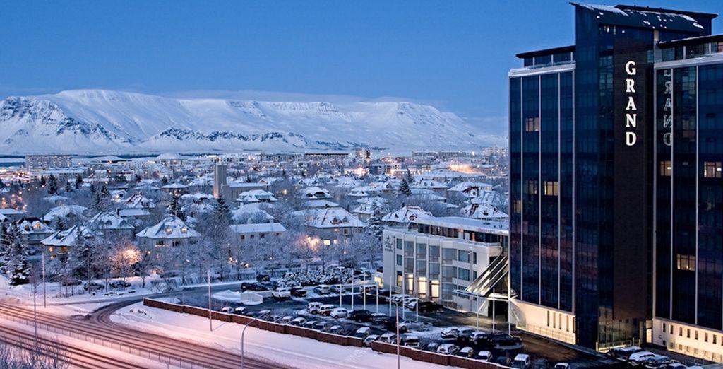 Vous arriverez à Reykjavik