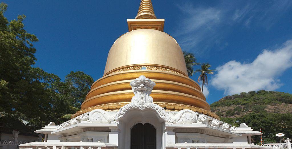 Découvrez des temples majestueux