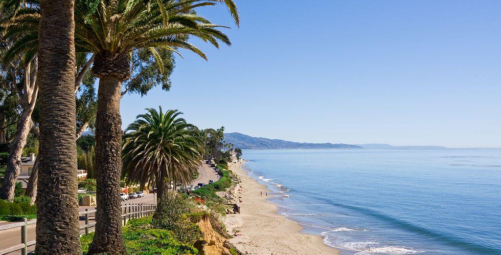...Et poursuivez enfin jusqu'à Santa Barbara...