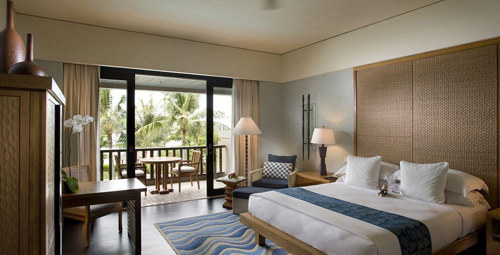 Découvrez la somptueuse chambre Deluxe Resort