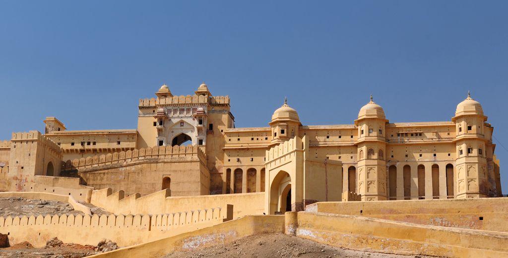 Admirez Amber, ancienne capitale du Rajasthan