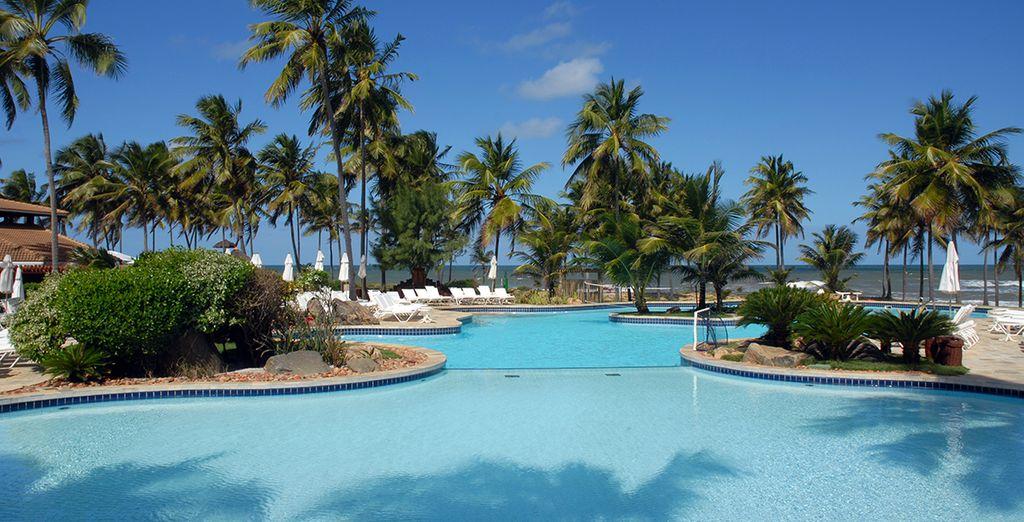Prenez du bon temps au bord de la piscine