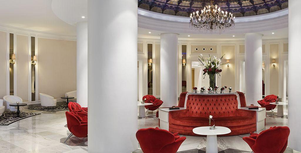 Un hôtel aux intérieurs élégants... - Gran Melia Colon 5* Seville