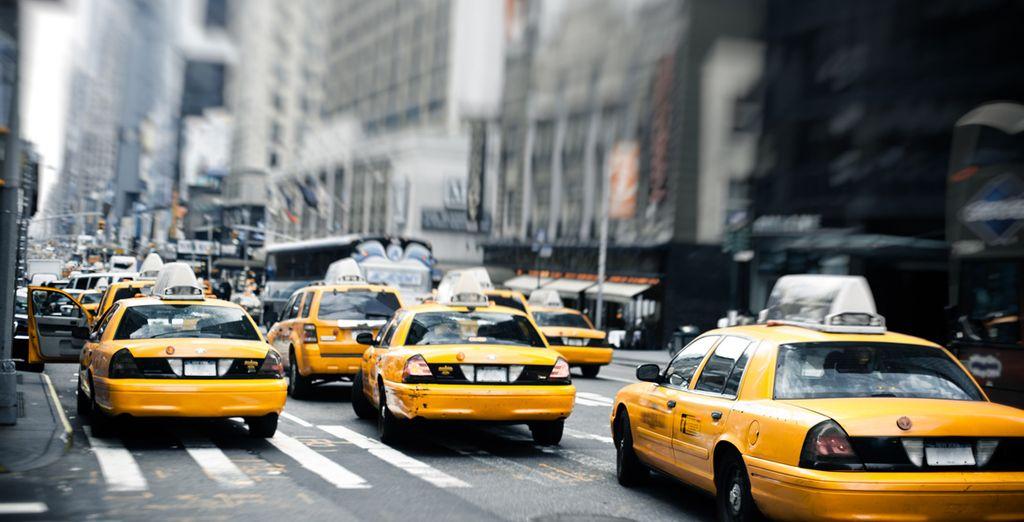 Direction New York pour un voyage inoubliable!