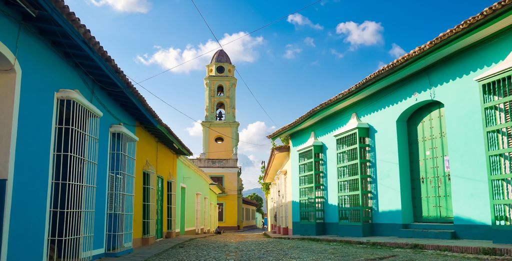 ... avant de revenir à Cuba, à Trinidad